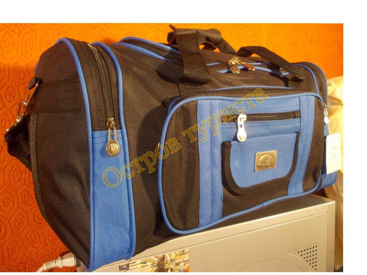 Сумка дорожная DingDa 2205 черно-синяя
