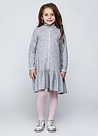 Платье для девочек серое