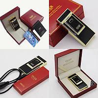 Электроимпульсная USB зажигалка TIGER №4686