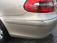 Молдинг бампера левый задний Mercedes e-class w211