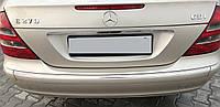 Молдинг бампера центральный задний Mercedes e-class w211