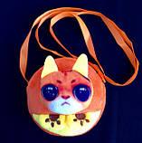 Детские мягкие сумки-кошелечек Любимые звери 11*10,5*1,5 см, фото 2