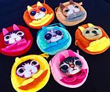 Детские мягкие сумки-кошелечек Любимые звери 11*10,5*1,5 см, фото 3