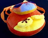 Детские мягкие сумки-кошелечек Любимые звери 11*10,5*1,5 см, фото 5