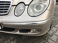 Молдинг бампера передний левый Mercedes e-class w211