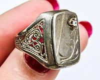 Шикарное мужское кольцо,печатка! Серебро,925 проба