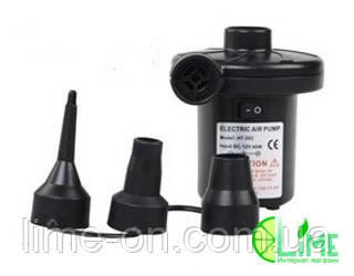 Электрический насос для надувных изделий, 12 V (с аккумулятором) - LIME online магазин в Харькове