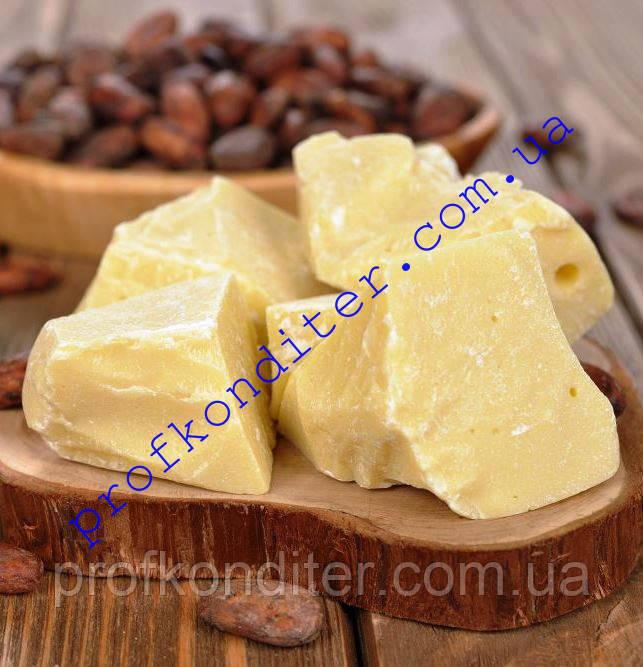 Какао-масло натуральное, 100 грамм