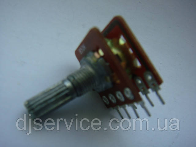 Потенциометр  b100k 20mm с тонокомпенсацией  для пультов,