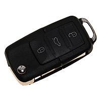 Выкидной ключ для VOLKSWAGEN 3 Кнопки 1J0 959 753 AH 1J0959753AH Flip Key 433mhz,
