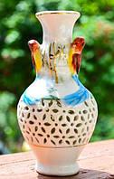 Изысканная Ваза,вазочка! Птицы! Германия!