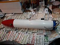 """Торпеда для протяжки сетей подо льдом морозостойкий пластик """"Белая ракета"""""""