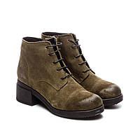 Зимние замшевые женские ботинки Maria Caruso