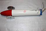 """Торпеда для протяжки мереж під льодом морозостійкий пластик """"Біла ракета"""", фото 2"""