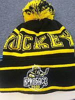 Шапки с логотипом, вязаные шапки с вышивкой, фото 1