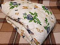 Одеяло из овечьей шерсти (бязь Gold) полуторное 150*210см.