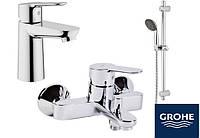 Набор 3 в 1 для ванной Grohe BauEdge 123265S