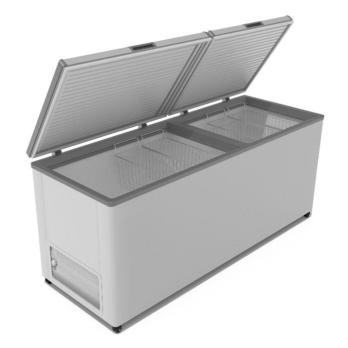 Морозильник горизонтальный Frostor F 700 SD (двойная глухая крышка)