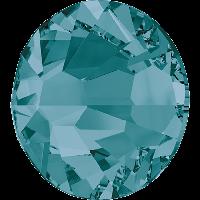 Стразы Сваровски (Swarovski) клеевые холодной фиксации 2058 Blue Zircon F (229) ss5