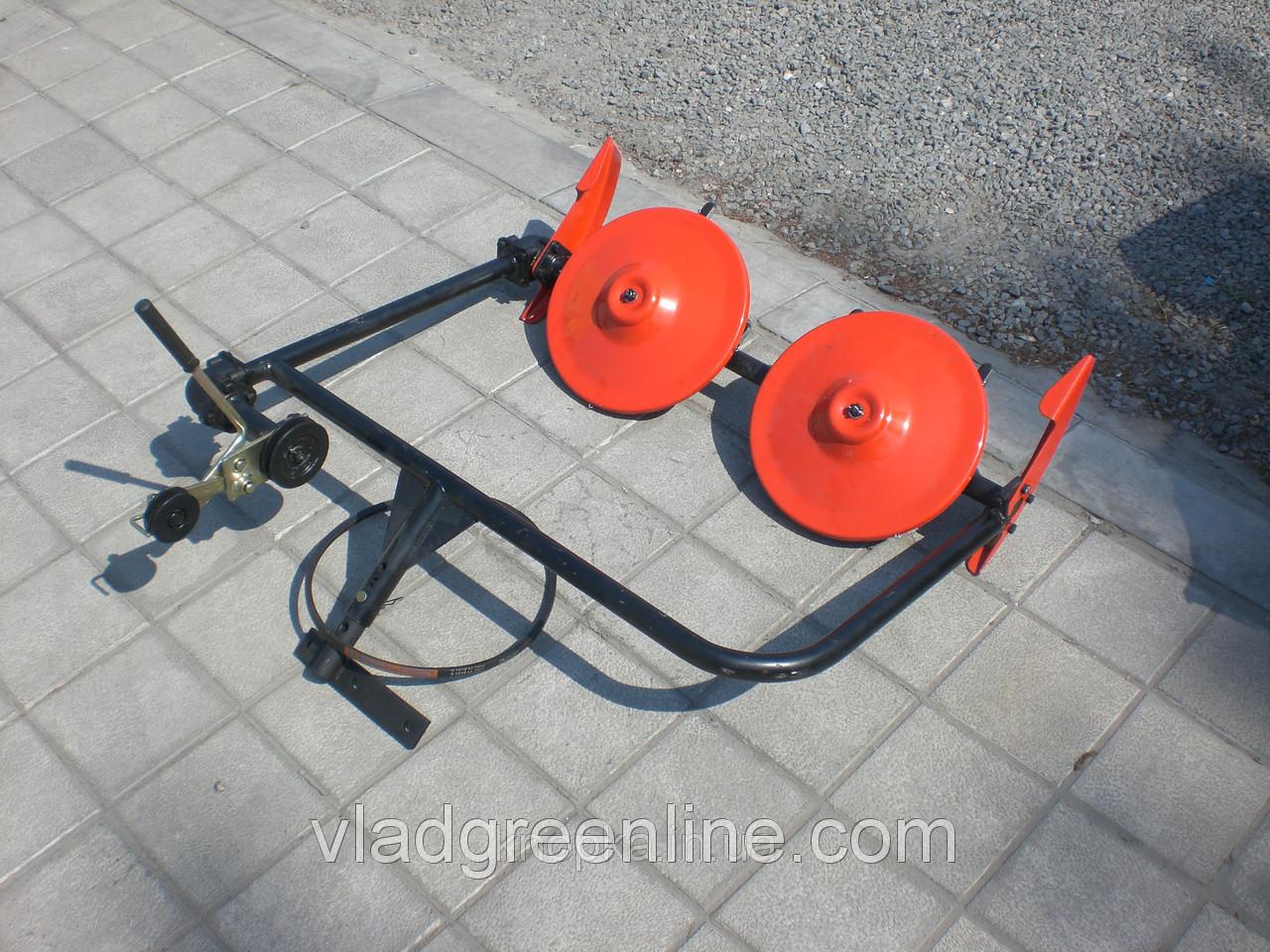 Косилка роторная ременная КР-01 ШИП кованые ножи (с ремнем, для МБ с водяным охлаждением)
