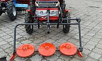 """Косилка роторная КР-06 """"ШИП"""" для мототрактора (с плавающей навеской с ремнем), фото 1"""