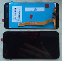 Huawei Nova Lite 2017 (SLA-L22) дисплей в зборі з тачскріном модуль чорний