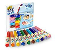Маркеры Color Wonder 10 классический цветов, Crayola (Крайола)