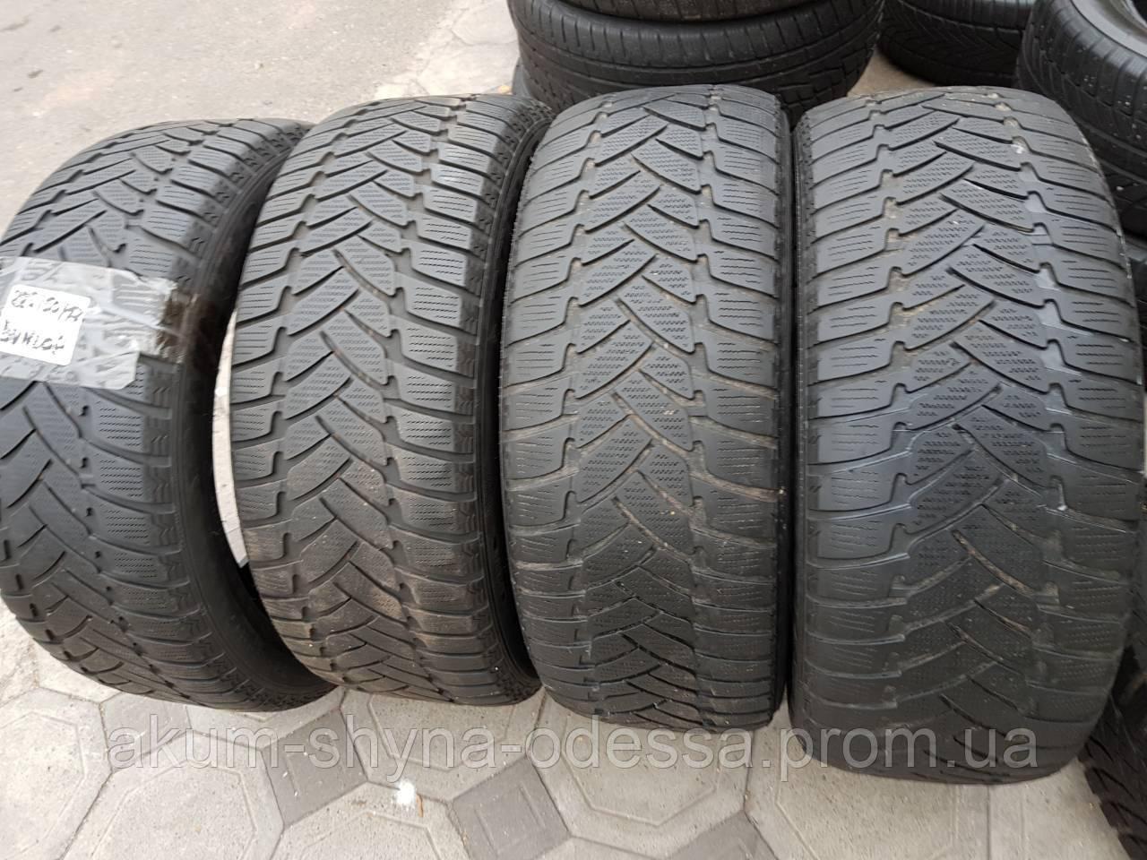 Шины зимние б/у 225/50 R17 Dunlop 6мм комплект