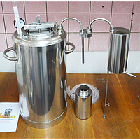 Автоклав Люкс-21 + Самогонный аппарат (Дистиллятор) + Сухопарник нерж. (Кировоград)