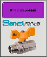 "Кран шаровый SD Forte 1"" ВН газ (бабочка)"