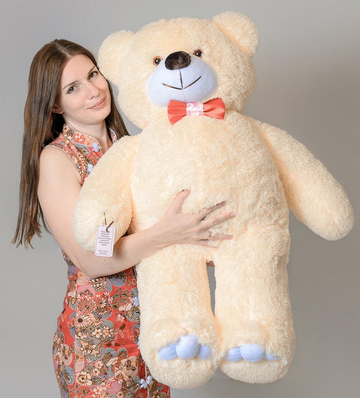 Медведь бежевый 110 см