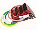 Светящийся ошейник USB - Розовый (Код: 0257), фото 3