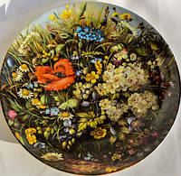 Шикарная коллекционная тарелка,Красота дикой природы! Furstenberg!