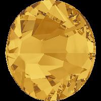 Камені Сваровські клейові холодної фіксації 2058 Sunflower (292)