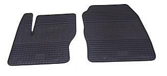 Коврики резиновые в салон для Ford Focus (3) 2011- (ПЕРЕД) (PolyteP_Clasic)