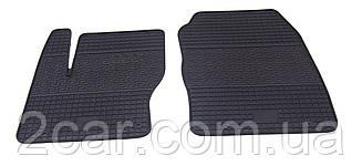 Коврики резиновые в салон для Ford Focus (3) 2011- (ПЕРЕД) (PolyteP_LUX)