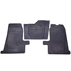 Коврики резиновые в салон для Ford Transit 2000- (PolyteP_LUX)