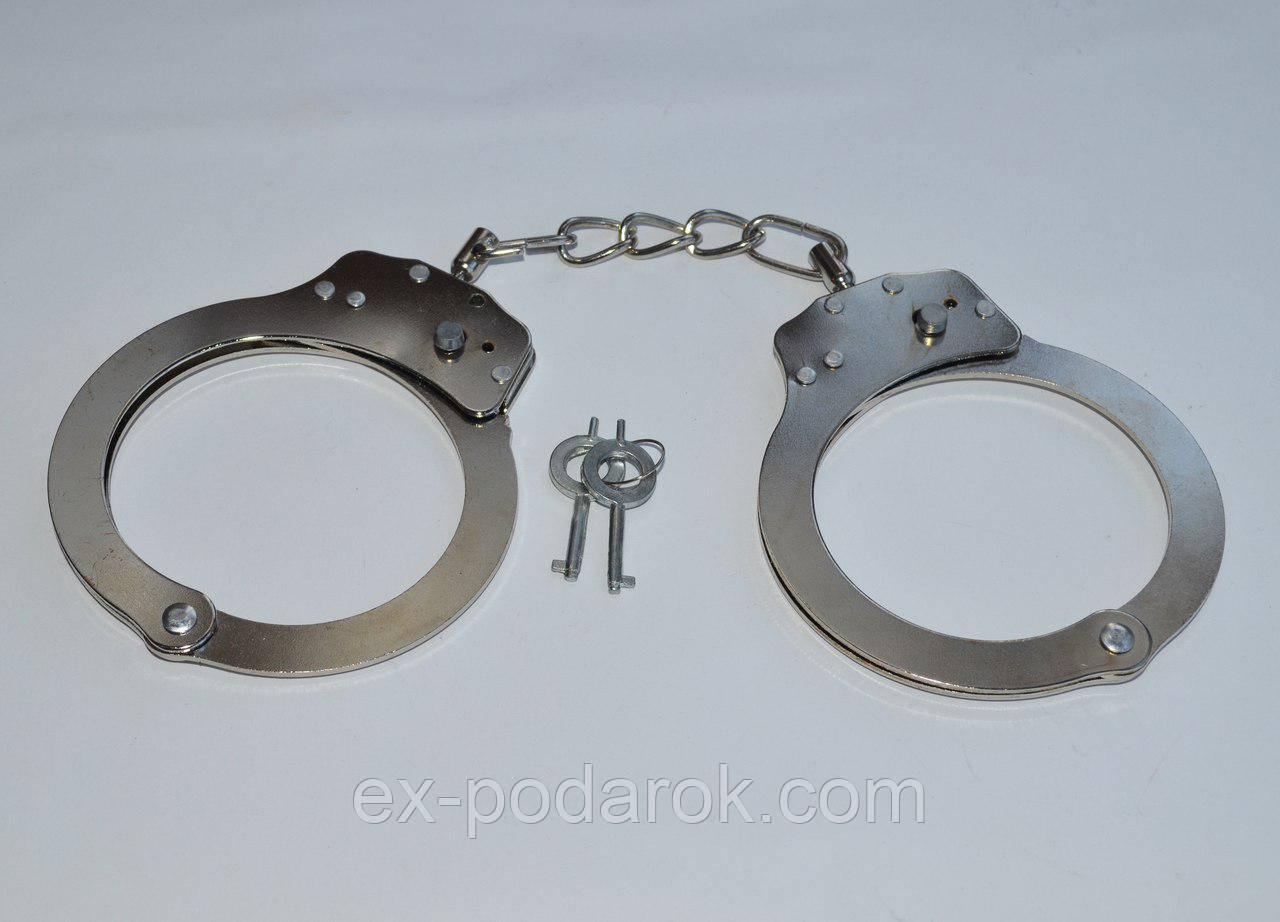"""Большие металлические наручники. - Интернет-магазин  """"ЕXCLUSIVE"""" в Чернигове"""