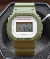 CASIO G-SHOCK Digital Square Green DW-5600M-3, фото 1