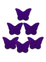 Конфетти бабочки фиолетовые, 100 грамм
