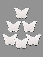 Конфетти бабочки белые, 100 грамм