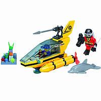 """Конструктор BRICK (LEGO) """"Субмарина"""" 100 деталей, 1215"""