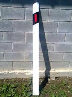 Столбики сигнальные направляющие для дорог