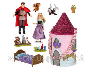 П, Набор Sleeping Beauty Exclusive Mini Castle Playset Disney Спящая красавица Мини замок Дисней