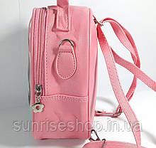 """Детский рюкзак- сумка """"Стильные девчонки"""" цвет розовый, фото 3"""