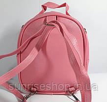 """Детский рюкзак- сумка """"Стильные девчонки"""" цвет розовый, фото 2"""