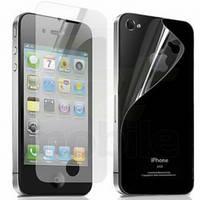 Защитная плёнка для iPhone 4/4S, прозрачная, двусторонняя, с эффектом 3D