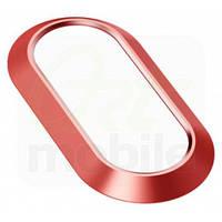 Защита на камеру для iPhone 7 Plus/8 Plus, Metal Lens Protection Ring, Red, Baseus (ACAPIPH7P-RI09)