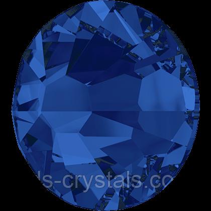 Стразы Сваровски (Swarovski) клеевые холодной фиксации 2058 Capri Blue F (243)