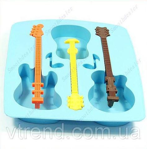 Форма для льда в виде гитары!